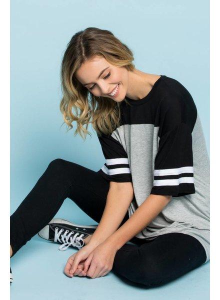 Jessie Stripe Sleeve Top