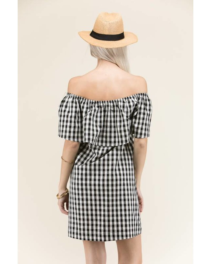 Gemma Gingham Dress