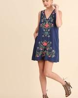 Brooke Embroidered Dress