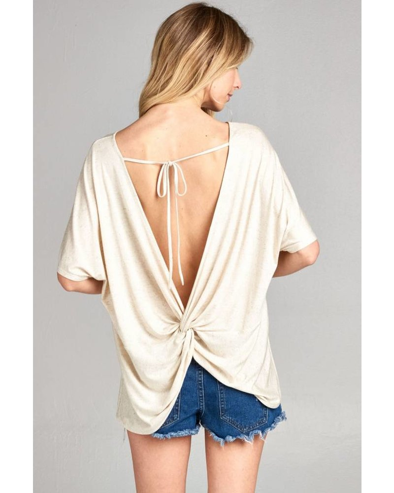 Ellen Twist Back Top