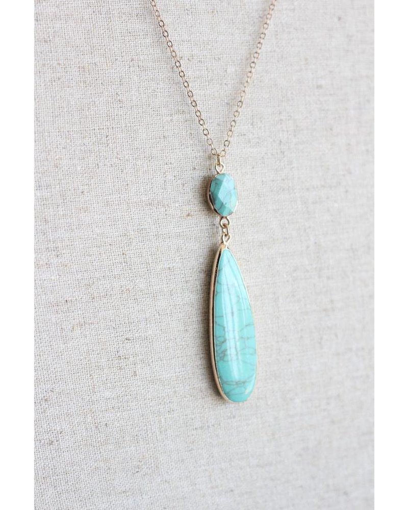 Arlo Necklace- Turquoise
