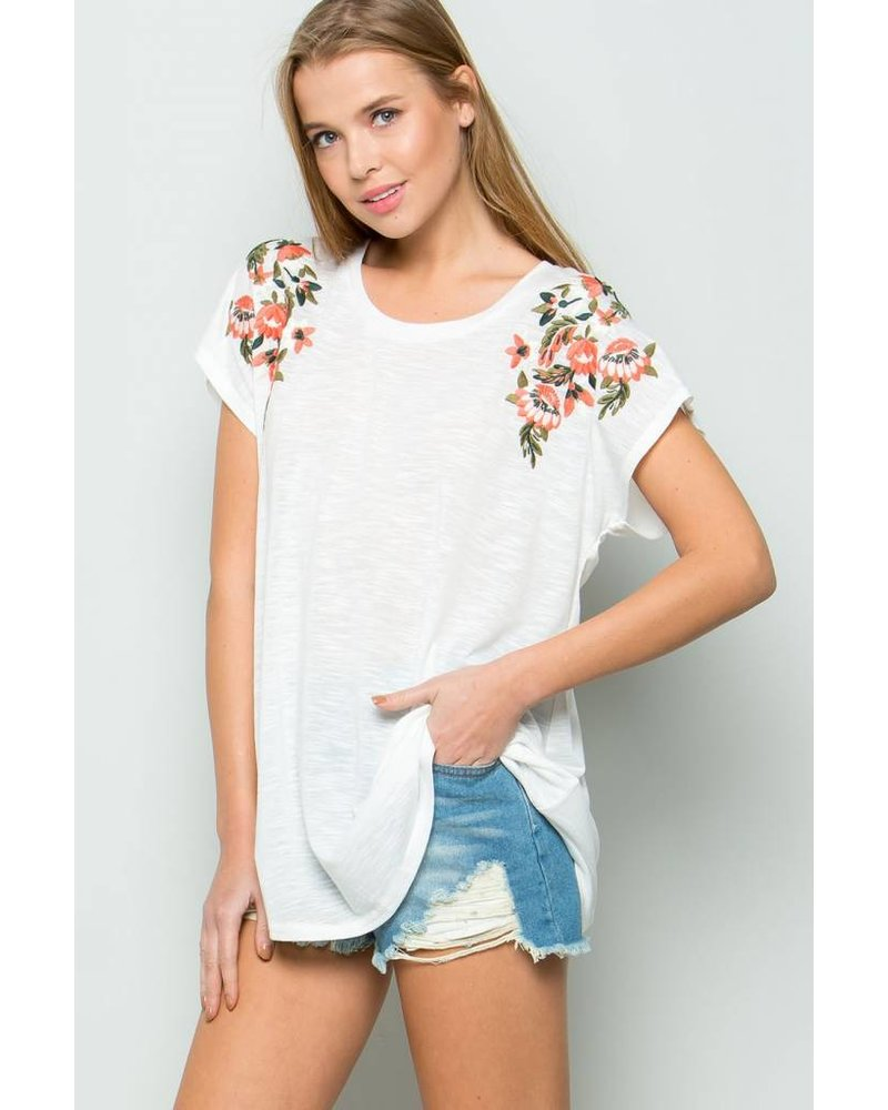 Addie Floral Top