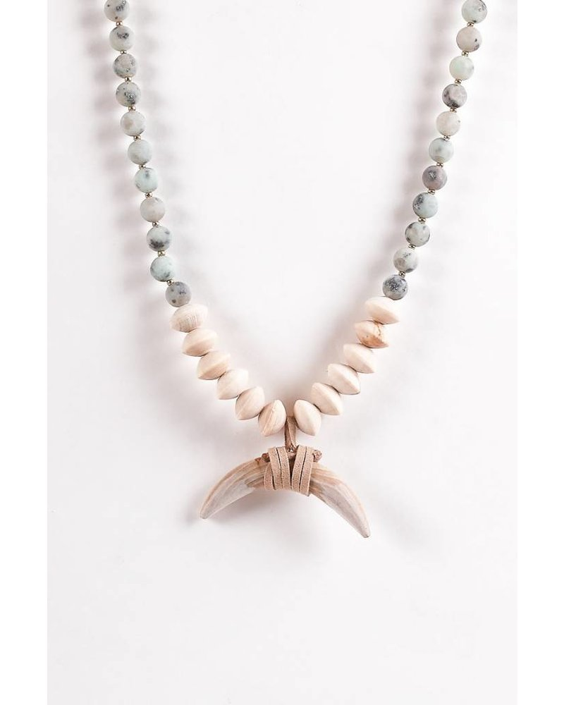 Austin Necklace- Gray