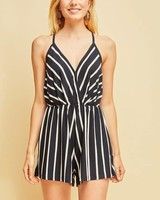 Amelia Striped Romper