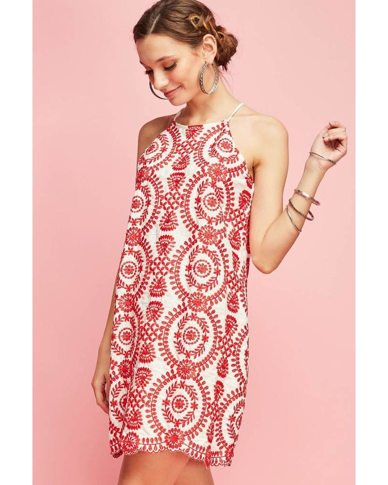 Brynn Embroidered Dress