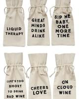 Cotton Wine Bag