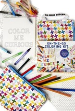 Kid Made Modern On The Go Coloring Kit