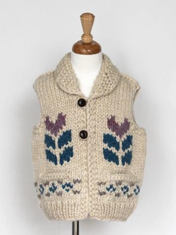 Granted Sweater Company s Granted Sweater Company Hand Knit Wool Vest
