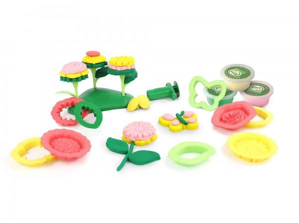 Green Toys Green Toys Flower Maker Dough Set