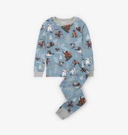 Hatley Hatley Long Sleeve PJ Set Woodland Animals