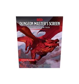 D&D 5TH Edition DM Screen Reincarnated