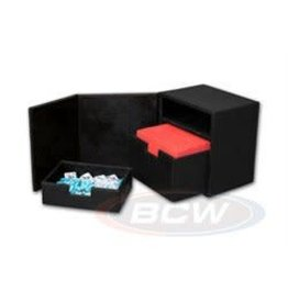 BCW Gaming Commander Deck Locker - Lx - Black