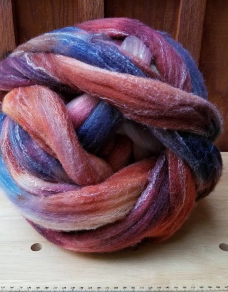 Palouse Yarn Company Fiber 4 oz Targhee Bamboo Silk