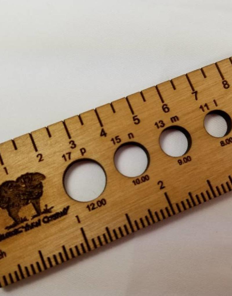 Katrinkles 8 inch Ruler/ Needle Gauge
