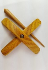 Jenkins Yarn Tools Turkish Spindle, Finch Style