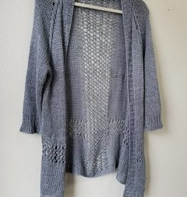 2018 Knit Along In Linen:  Sandshore Cardigan