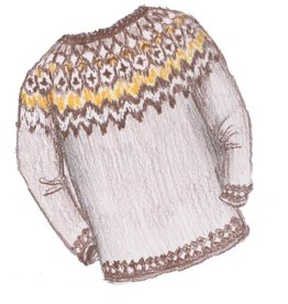 Traditional Yoked Sweater
