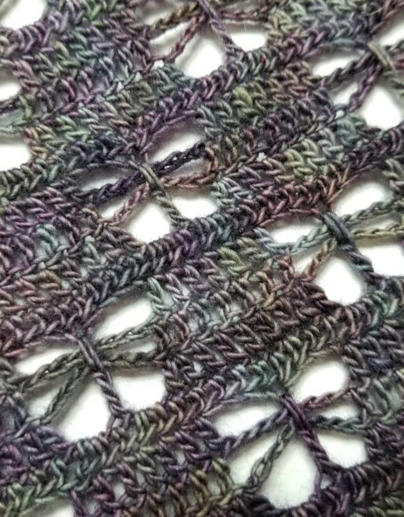 Crochet Class:  Butterfly Shawl