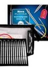 Knitters Pride Nova Platina Interchangeable Needle Set