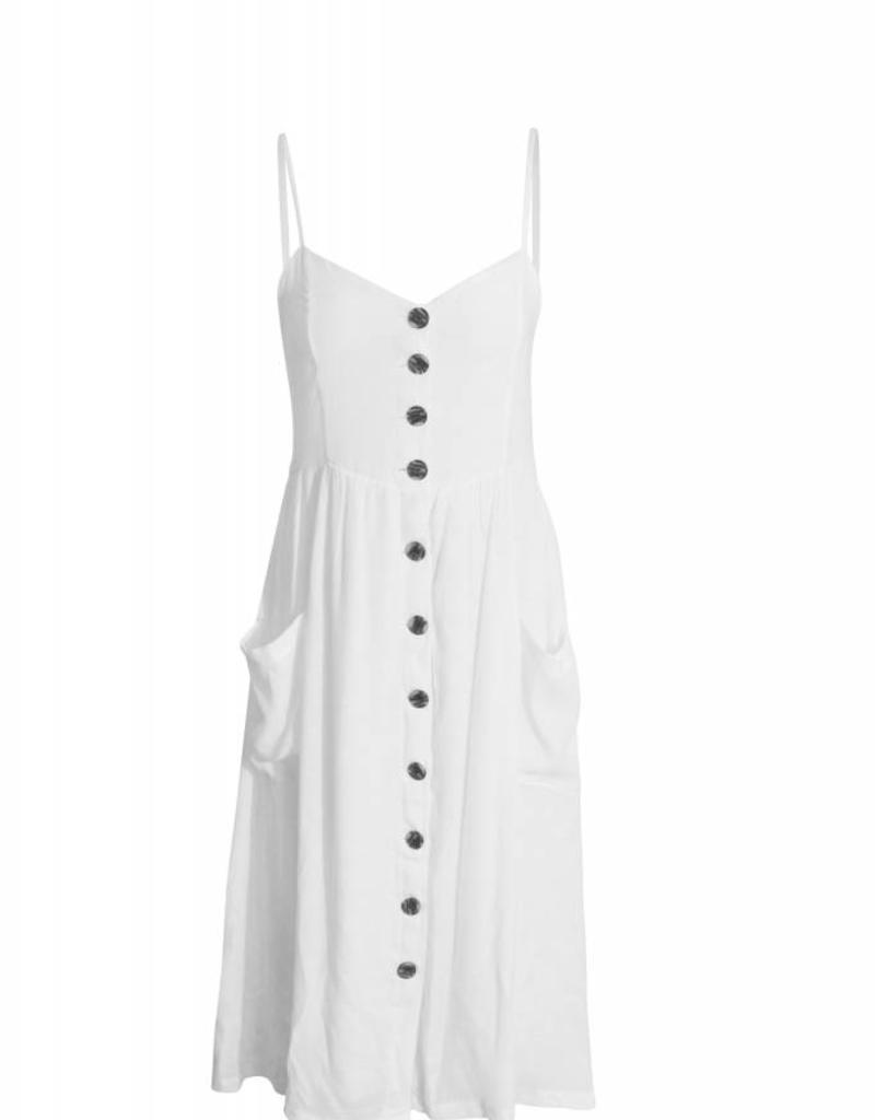8 Birdies Leslie Fitted Button Dress