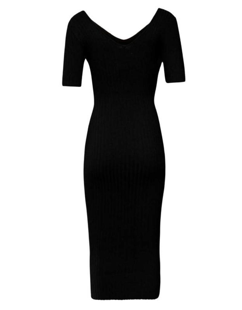 Hera Ember V-Neck Sweater Dress