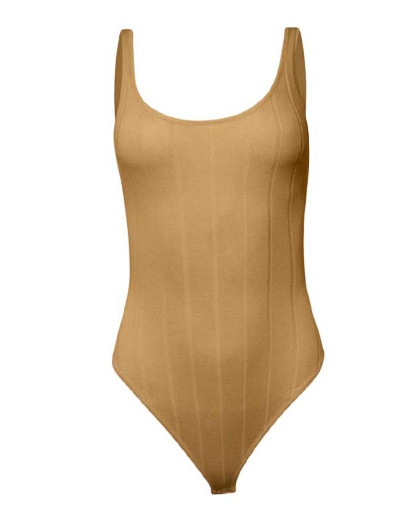 Hera Yani Ribbed Tank Bodysuit