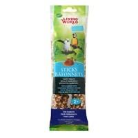 Living World Living World Parrot Sticks, Honey Flavour, 140 g (5 oz), 2 pack