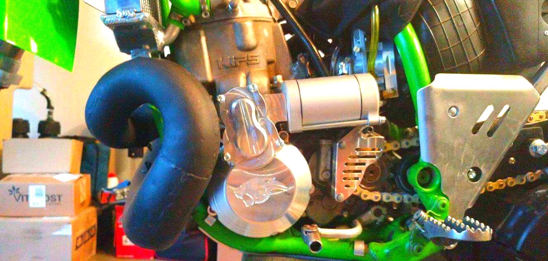KX500 Electric start