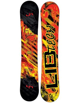 LIB TECH SKATE BANANA FUNDAMENTAL BTX SNOWBOARD 2016
