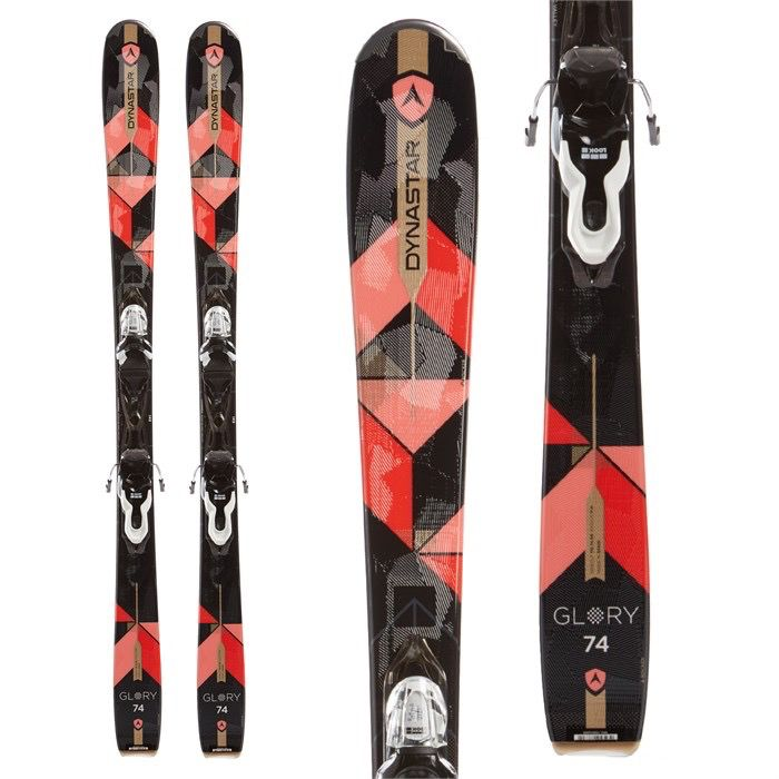 DYNASTAR GLORY 74 SKIS + XPRESS 10 BINDINGS - WOMEN'S 2017