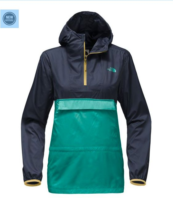 TNF THE NORTH FACE WOMEN'S FANORAK JACKET