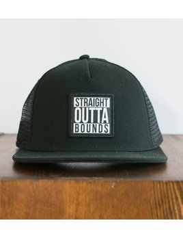 OUTTABOUNDS OUTTABOUNDS STRAIGHT MESH HAT