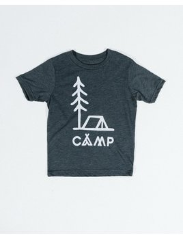 CAMPBRAND GOODS KIDS IN TENTS T-SHIRT