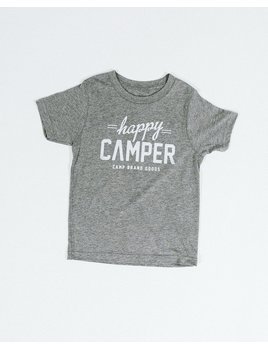 CAMPBRAND GOODS KIDS HAPPY CAMPER T-SHIRT