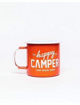 CAMPBRAND GOODS HAPPY CAMPER ENAMEL MUG