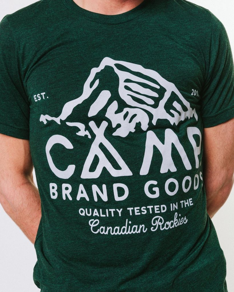 CAMPBRAND GOODS PEAK T-SHIRT