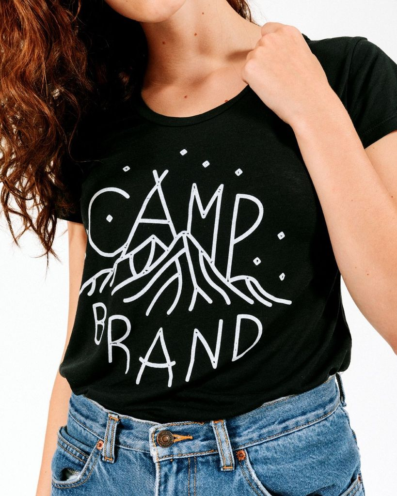 CAMPBRAND GOODS CAMP BRAND MAGIC MOUNTAIN LOOSE TEE
