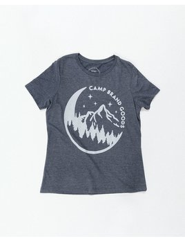 CAMPBRAND GOODS CAMP BRAND MOONLIGHT RELAXED TEE
