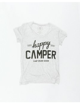 CAMPBRAND GOODS CAMP BRAND HAPPY CAMPER LOOSE TEE