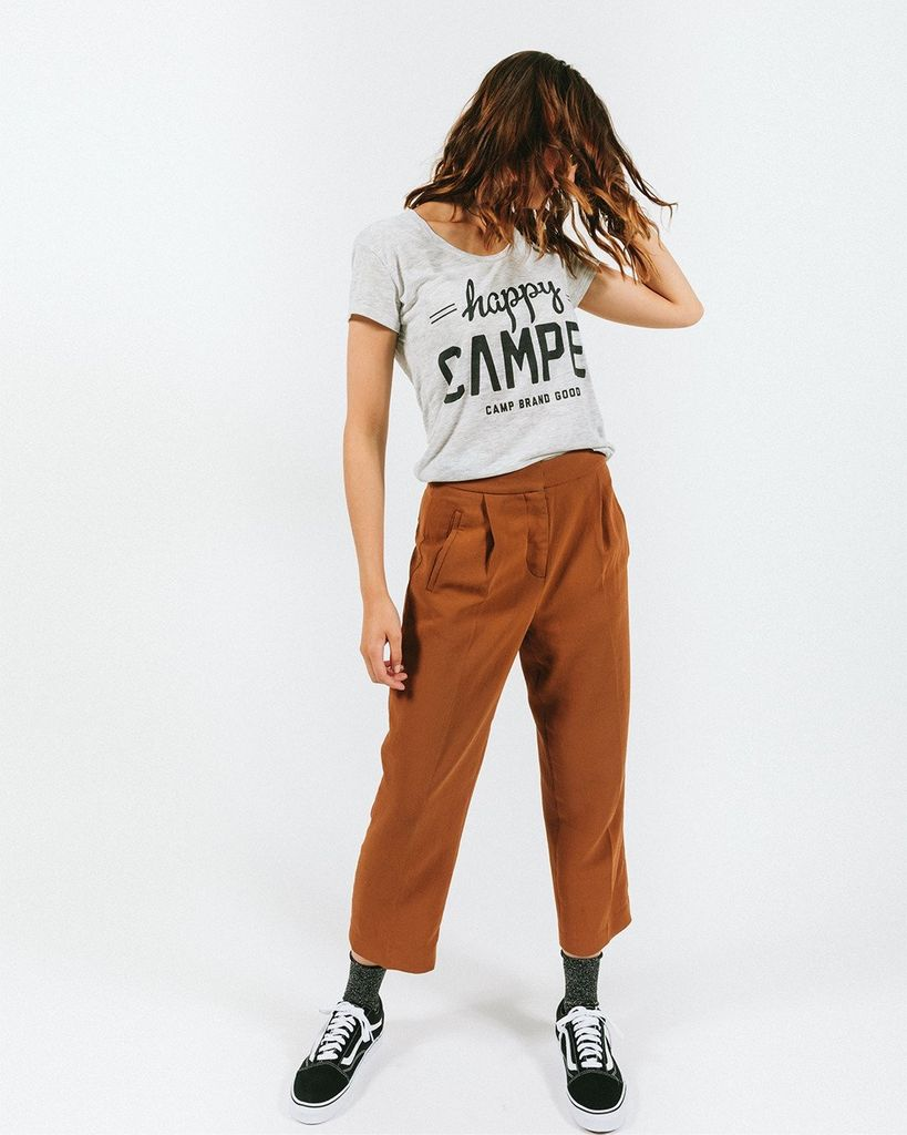 CAMPBRAND GOODS CAMP BRAND HAPPY CAMPER LOOSE TEE