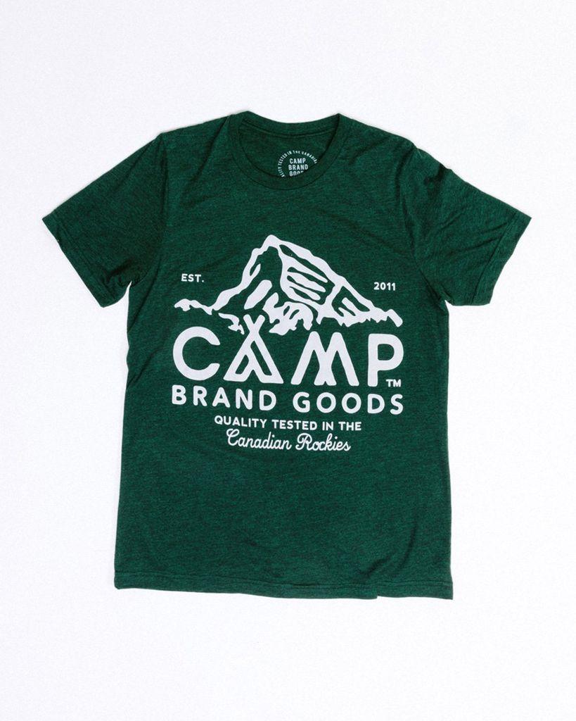 CAMPBRAND GOODS CAMP BRAND PEAK T-SHIRT