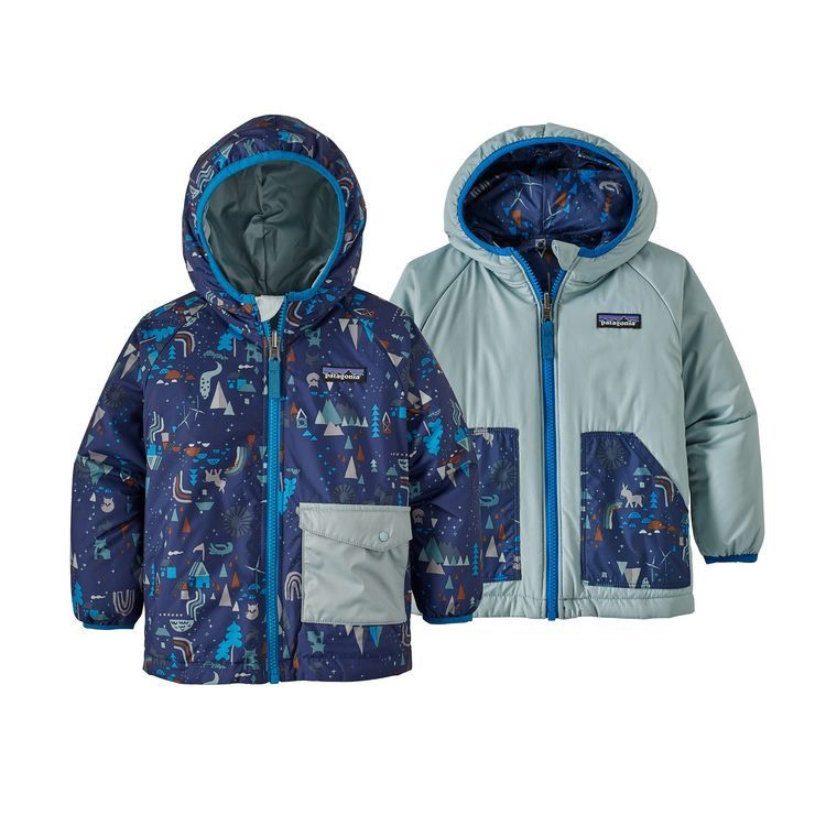 Baby Patagonia Reversible Puff Ball Jacket Outtabounds