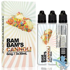 Bam Bam's BAM BAM'S - CANNOLI 6 MG 90 ML