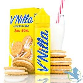 V'Nilla By Tinted Brew Liquid Co. E-Liquid Cookies & Milk / 6 mg - V'Nilla By Tinted Brew Liquid Co.  60ML