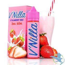V'Nilla By Tinted Brew Liquid Co. E-Liquid Strawberry Milk / 3 mg - V'Nilla By Tinted Brew Liquid Co.  60ML