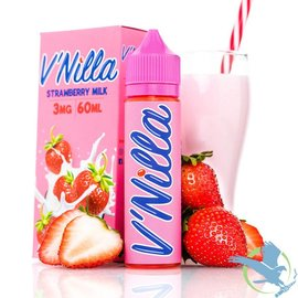 V'Nilla By Tinted Brew Liquid Co. E-Liquid Strawberry Milk / 6 mg - V'Nilla By Tinted Brew Liquid Co.  60ML