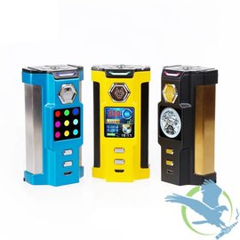 Sigelei Sigelei SnowWolf Vfeng 230W TC Starter Kit With Vfeng Sub-Ohm Tank - Yellow and Black