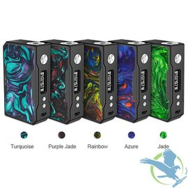 Voopoo Voopoo Drag 157W TC Box Mod Black Frame Resin Version - Turquoise