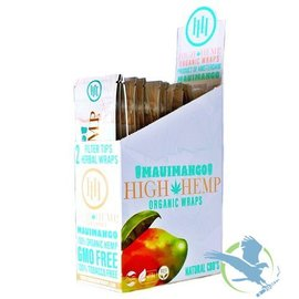 High Hemp High Hemp Organic Wraps MauiMango - Pack of 2
