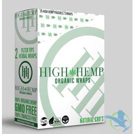 High Hemp High Hemp Herbal Wraps - Pack of 2